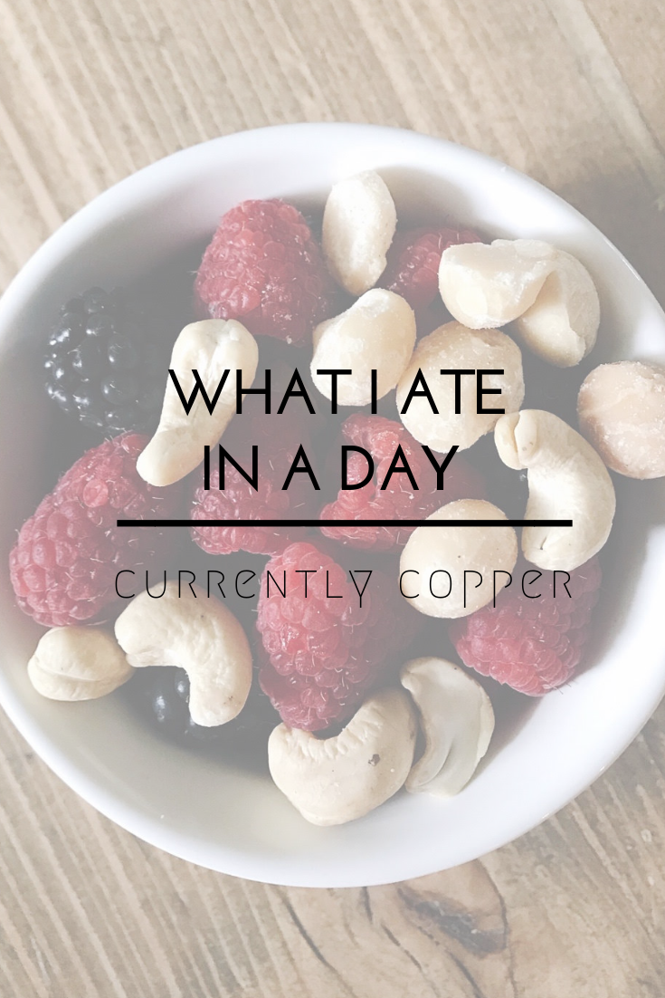 what i ate in a day paleo and whole 30