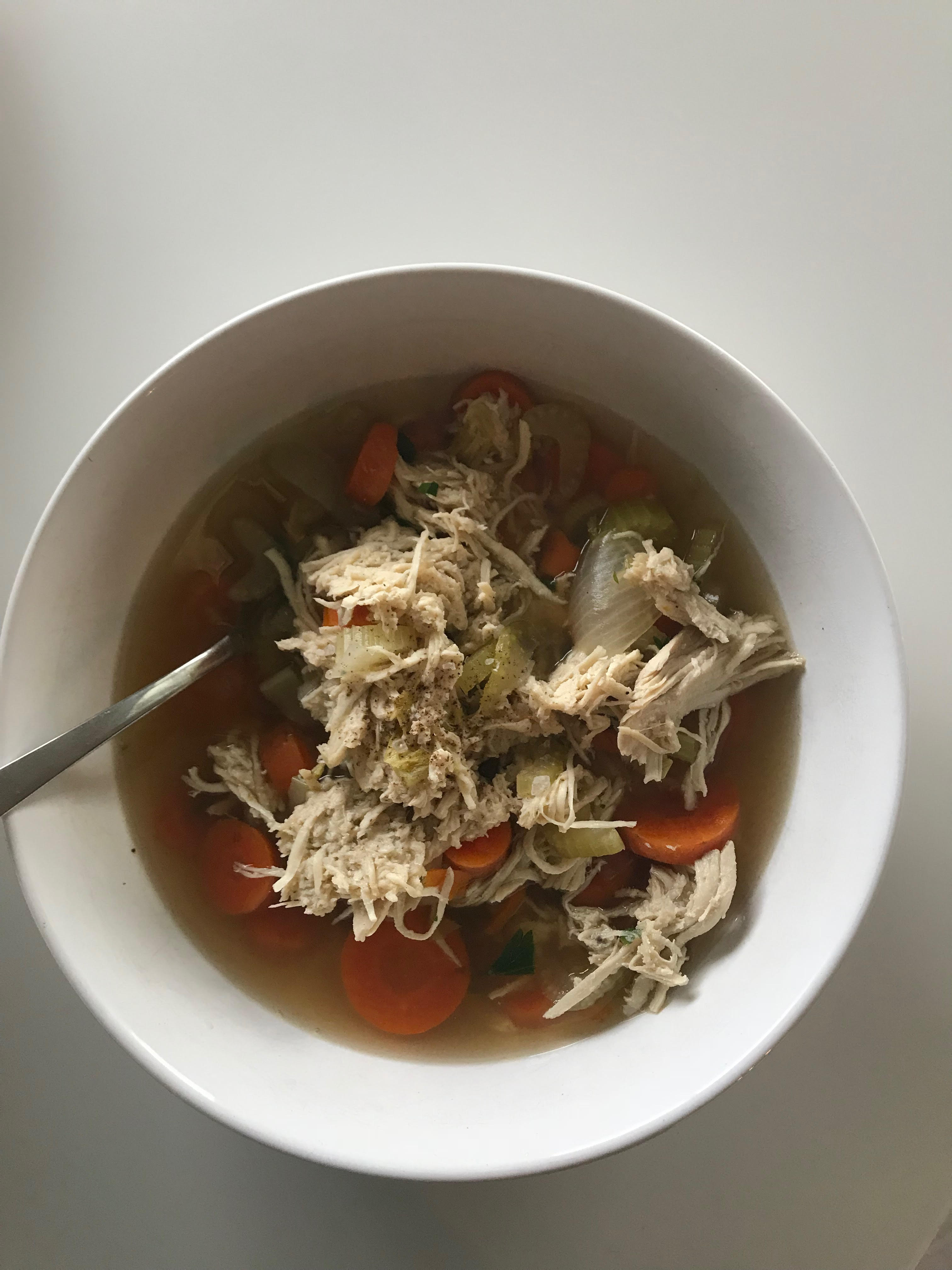 whole 30 paleo chicken soup what i ate in a day