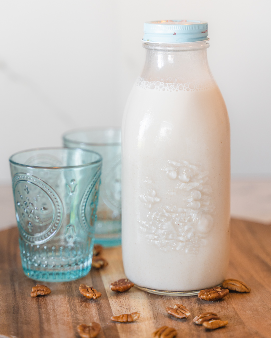 Homemade Maple Pecan Milk
